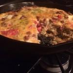 Recipe: Italian Sausage and Green Chile Frittata