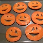 Healthy Holiday Treats: Jack-o-lantern Sweet Potato Crisps