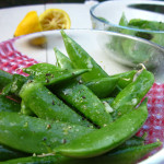 In the Nude: Sugar Snap Peas