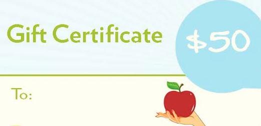 $50 Gift Certificate – Pantry Doctor, LLC