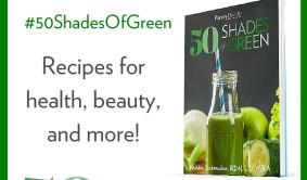 50 SHADES of GREEN Sidebar