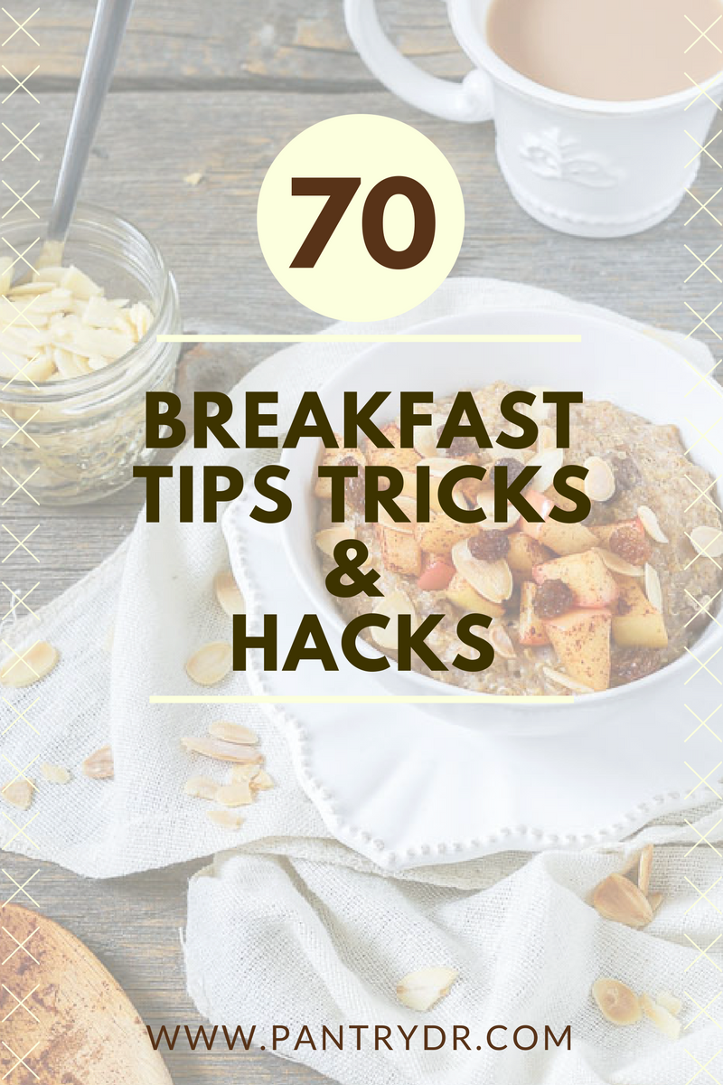 70 Healthy Breakfast Ideas: Tips, Tricks and Hacks for Success ...
